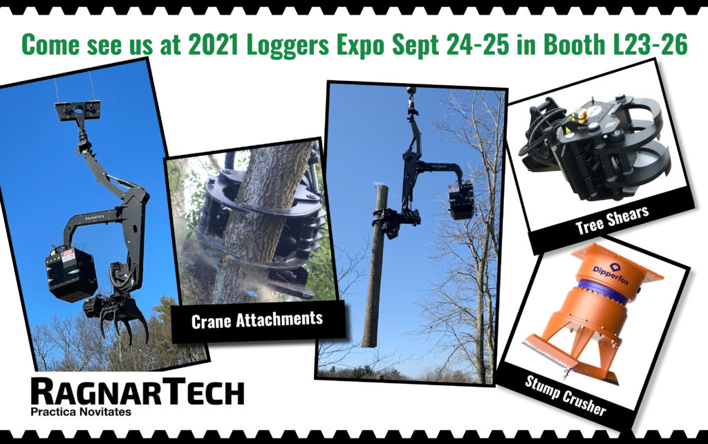 RagnarTech at 2021 Loggers Expo